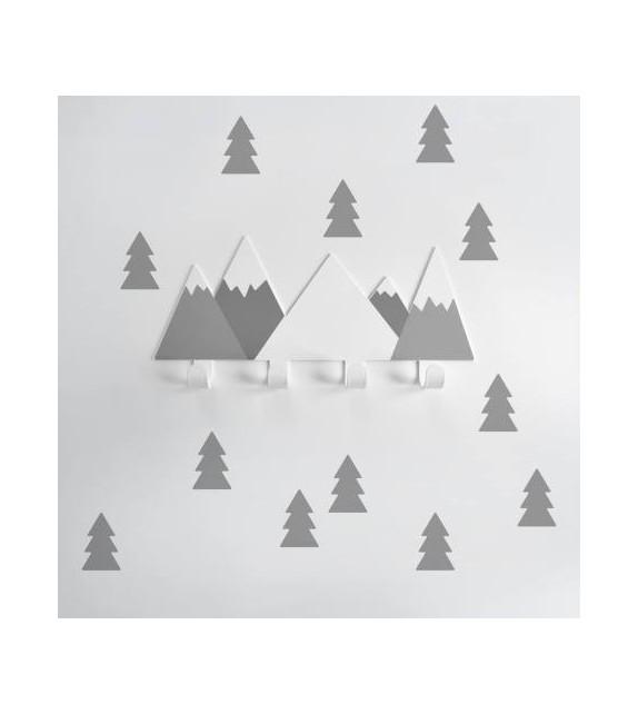 """Nagi """"hallid mäed"""" + 12 halli puud"""