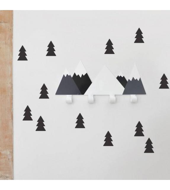 """Nagi """"mustad mäed"""" + 12 musta puud"""
