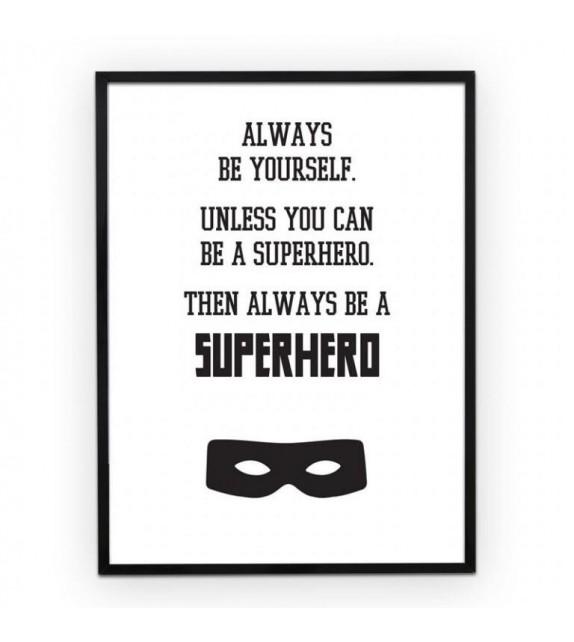 "Poster ""Superhero"""