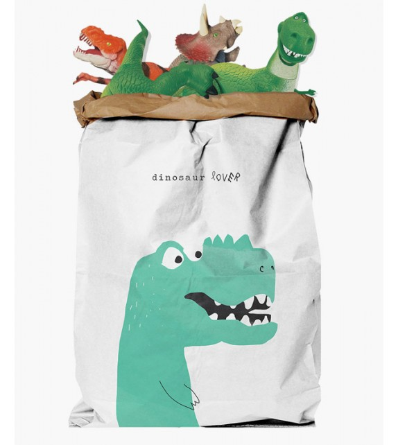 """Paberkott """"Dinosaur Lover"""""""