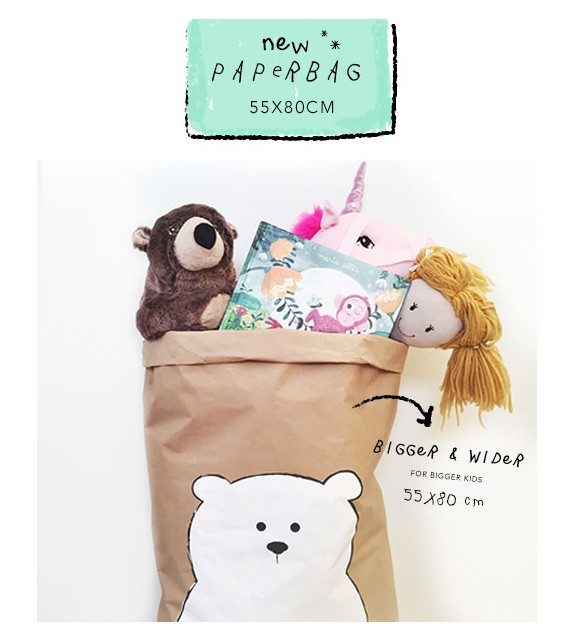 "Paberkott ""Baby Bear"" pruun"